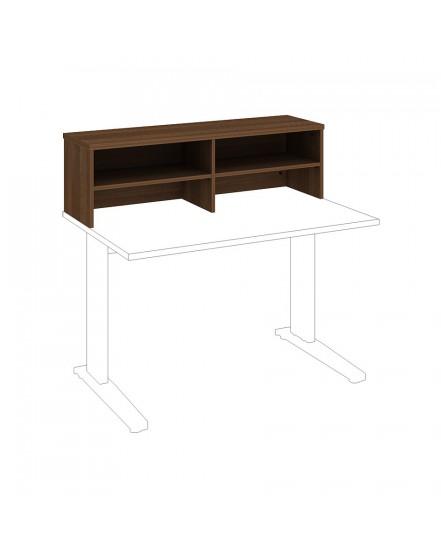 120x35 nastavba policova se zady - Delso - dětský, kancelářský a bytový nábytek