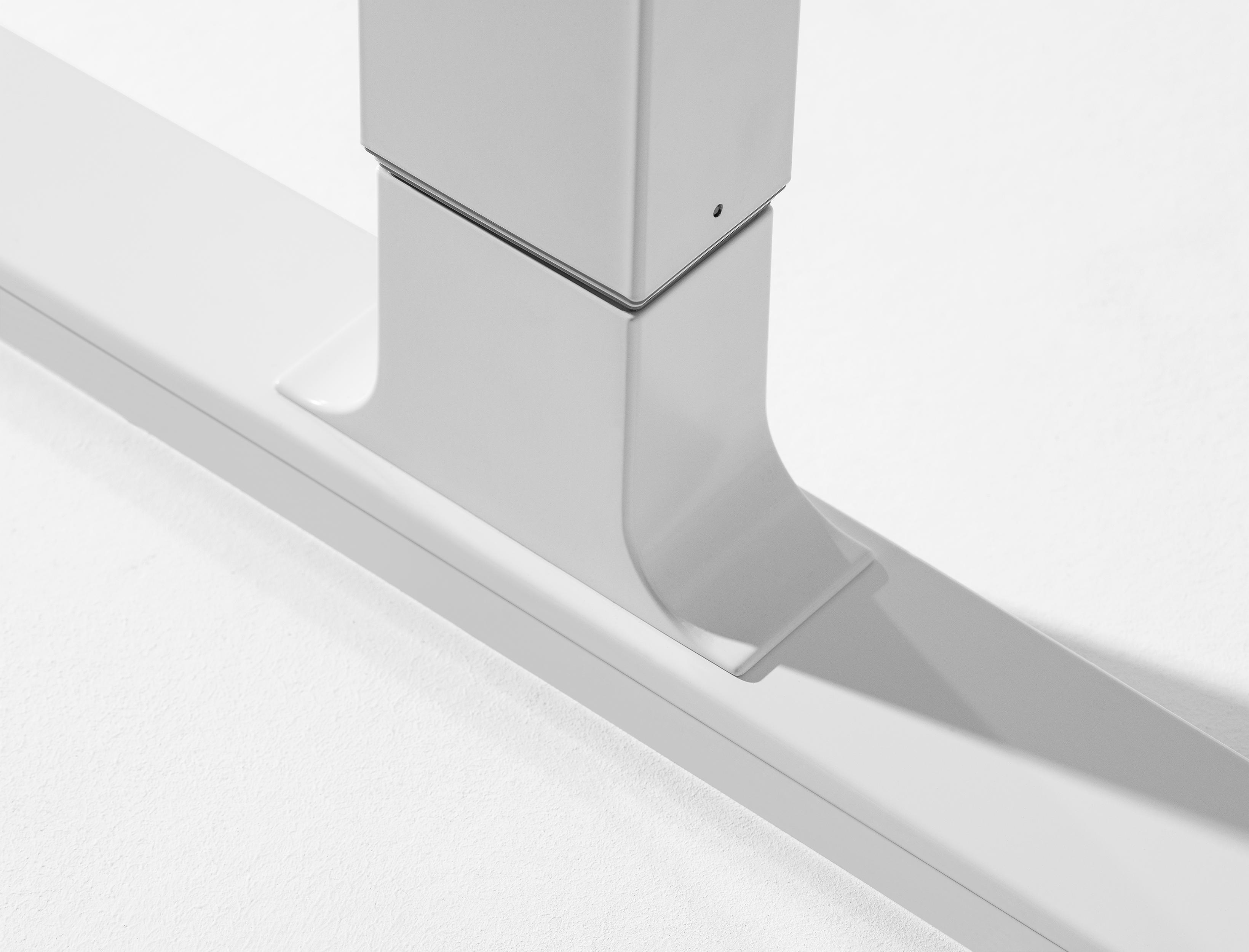 Designschreibtsich moll T7 Hoehenadapter - Delso - dětský, kancelářský a bytový nábytek