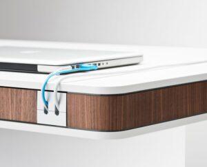 Luxusni elektricky vyskove nastavitelny stul T7 - Delso - dětský, kancelářský a bytový nábytek