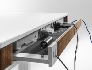 Luxusni elektricky vyskove nastavitelny stul T7 2 - Delso - dětský, kancelářský a bytový nábytek