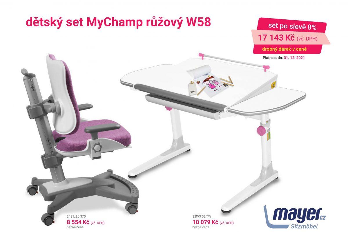 MAYER CZ KIDS set MyChamp ruzovy W58 CZK 2021 05 scaled - Delso - dětský, kancelářský a bytový nábytek