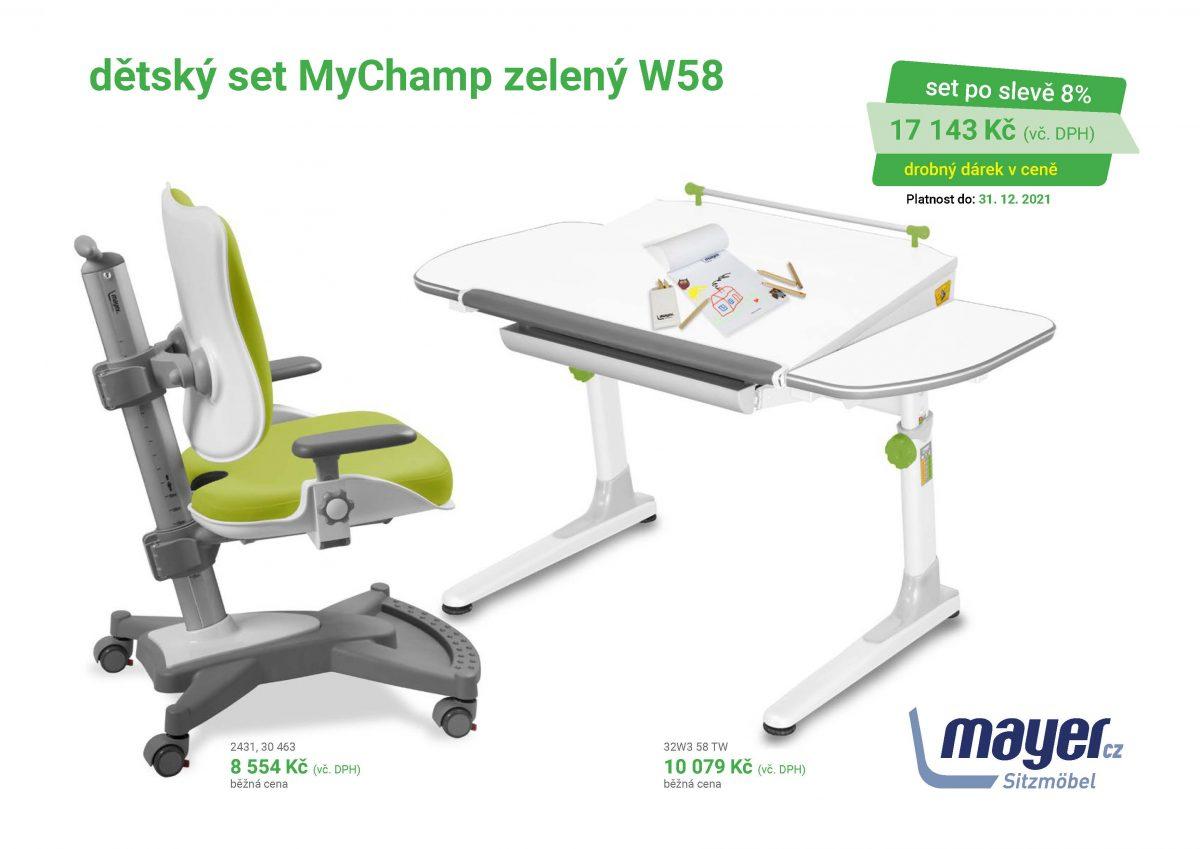 MAYER CZ KIDS set MyChamp zeleny W58 CZK 2021 05 scaled - Delso - dětský, kancelářský a bytový nábytek