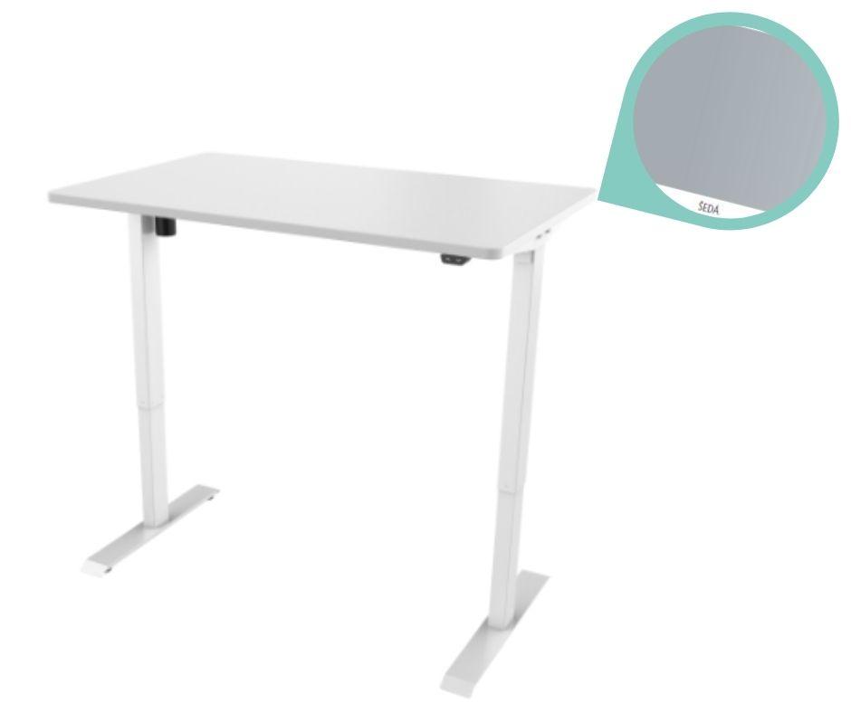 def114 bila seda - Delso - dětský, kancelářský a bytový nábytek