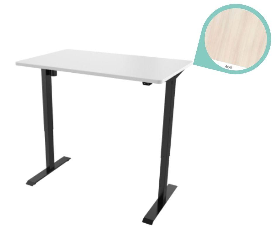 def114 cerna akat - Delso - dětský, kancelářský a bytový nábytek