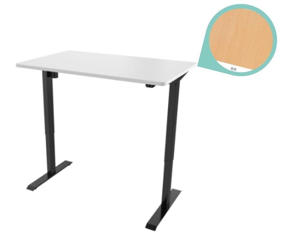 def114 cerna buk - Delso - dětský, kancelářský a bytový nábytek