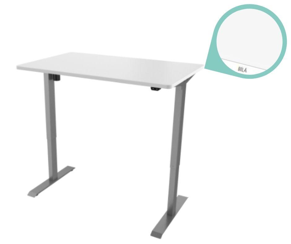 def114 seda bila - Delso - dětský, kancelářský a bytový nábytek