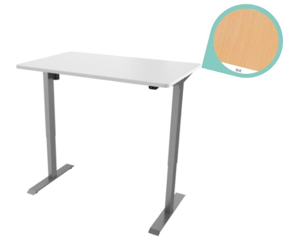 def114 seda buk - Delso - dětský, kancelářský a bytový nábytek