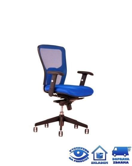 dike bp pracovni zidle s podruckami - Delso - dětský, kancelářský a bytový nábytek