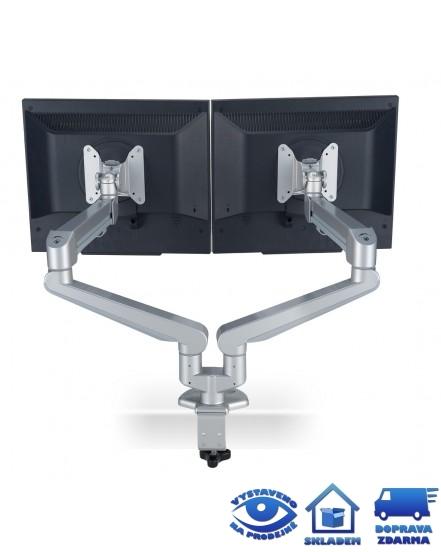 drzak monitoru profi double ergo arm - Delso - dětský, kancelářský a bytový nábytek