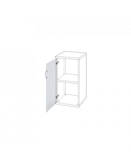 dvere mlecne sklo leve - Delso - dětský, kancelářský a bytový nábytek