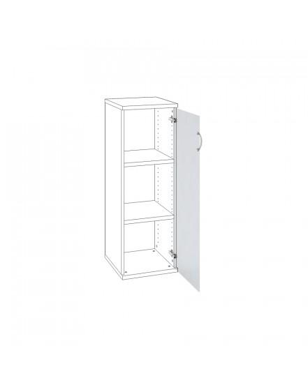 dvere mlecne sklo prave 1 - Delso - dětský, kancelářský a bytový nábytek