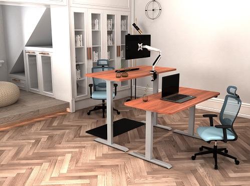 elekricky nastavitelny stul DEF114 - Delso - dětský, kancelářský a bytový nábytek