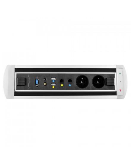 elektricky otocny panel 2x el2x datavideoaudiovgausb - Delso - dětský, kancelářský a bytový nábytek