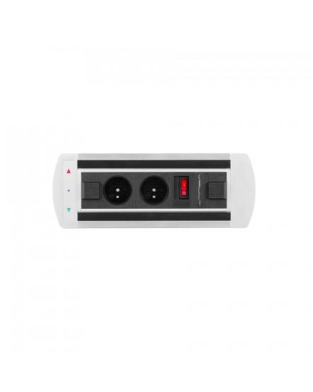 elektricky otocny panel 2x elzasvypinac - Delso - dětský, kancelářský a bytový nábytek