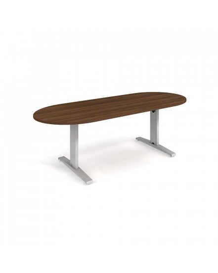 jednaci stul oval 220 x 100 - Delso - dětský, kancelářský a bytový nábytek