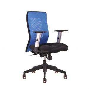 kancelarska zidle Calypso modra - Delso - dětský, kancelářský a bytový nábytek