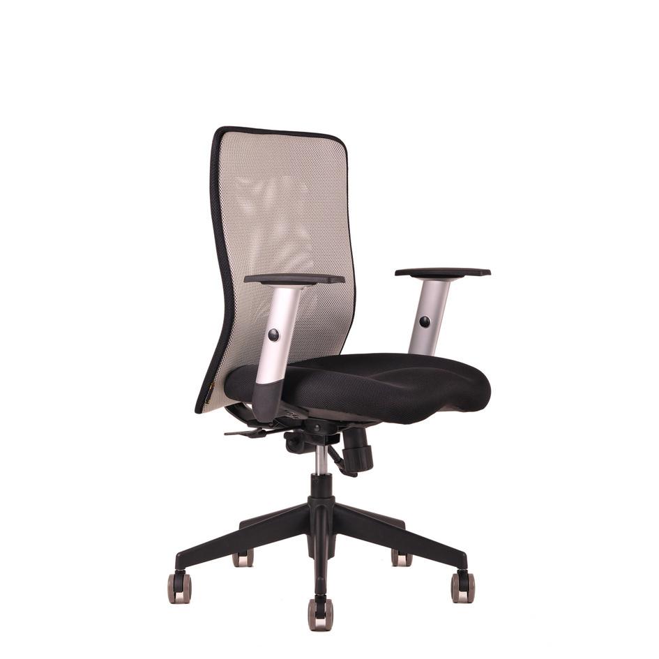 kancelarska zidle Calypso seda - Delso - dětský, kancelářský a bytový nábytek