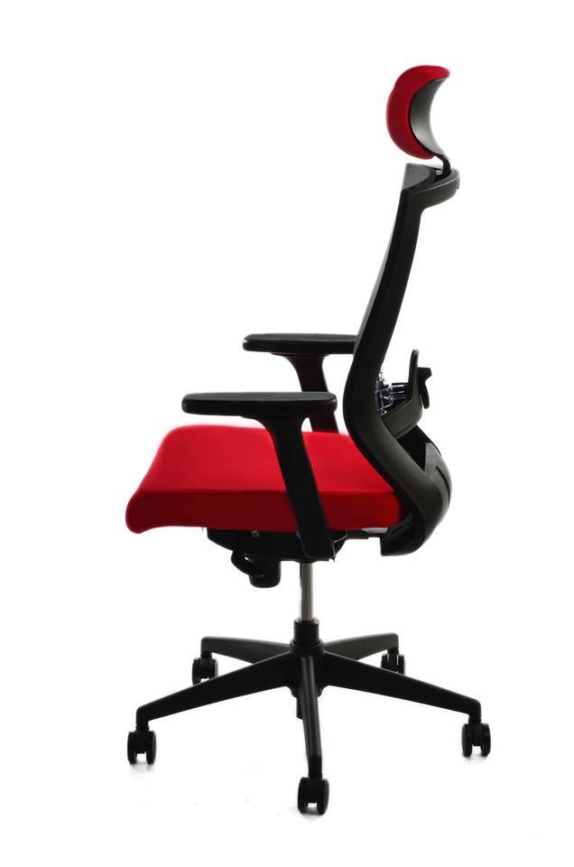 kancelarska zidle pron cervena 2 - Delso - dětský, kancelářský a bytový nábytek