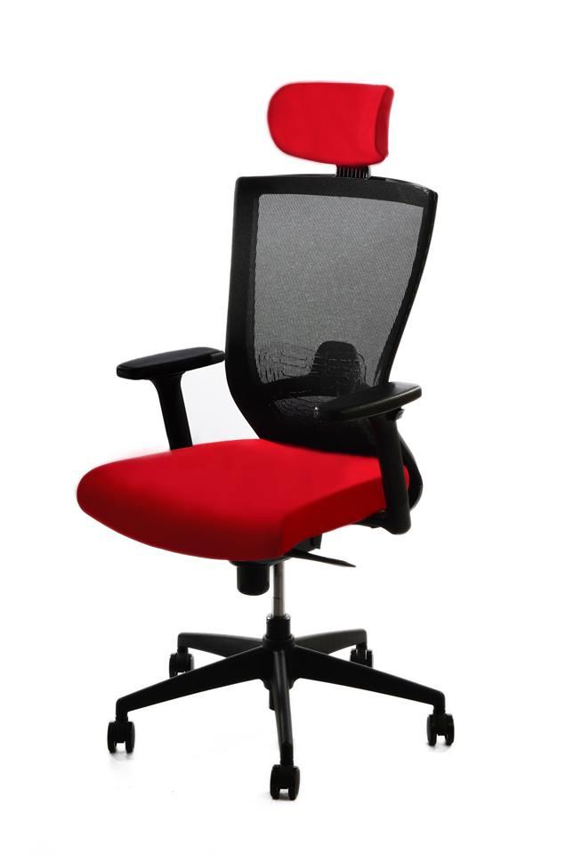 kancelarska zidle pron cervena 3 - Delso - dětský, kancelářský a bytový nábytek