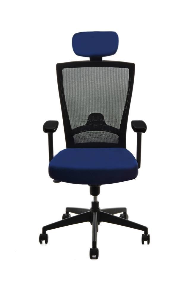 kancelarska zidle pron modra 2 - Delso - dětský, kancelářský a bytový nábytek