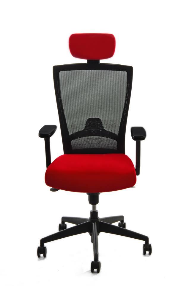kancelarska zidle pron cervena 1 - Delso - dětský, kancelářský a bytový nábytek