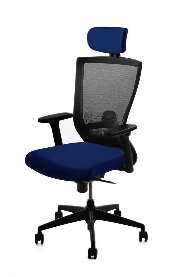 kancelarska zidle pron modra 1 - Delso - dětský, kancelářský a bytový nábytek