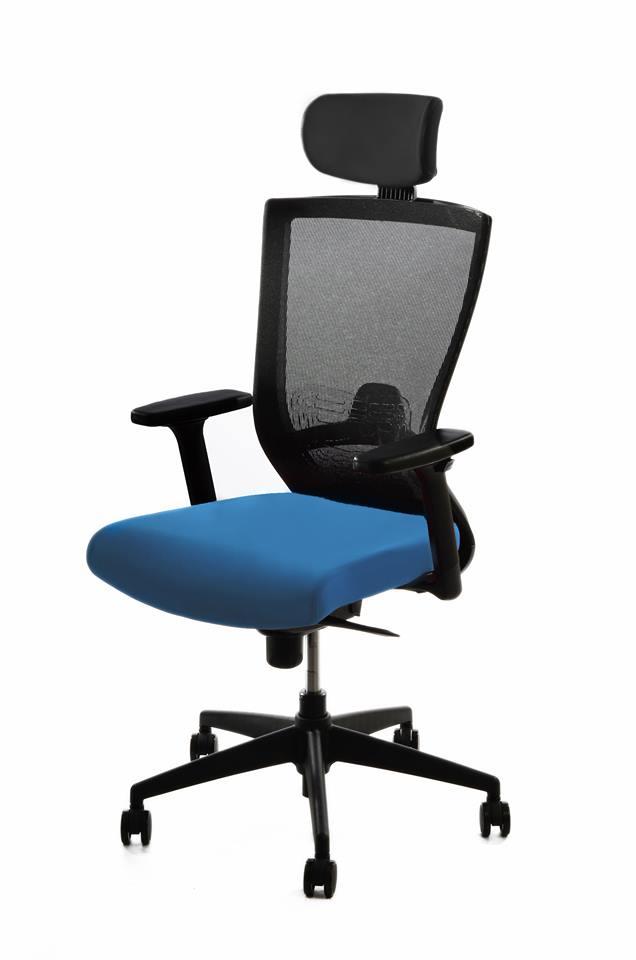 kancelarska zidle pron sv. modra 1 - Delso - dětský, kancelářský a bytový nábytek