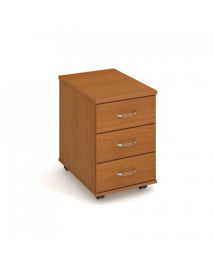 kontejner 3 zasuvky napric 60cm - Delso - dětský, kancelářský a bytový nábytek