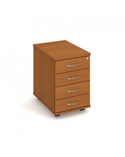 kontejner 4 zasuvky napric 60cm - Delso - dětský, kancelářský a bytový nábytek