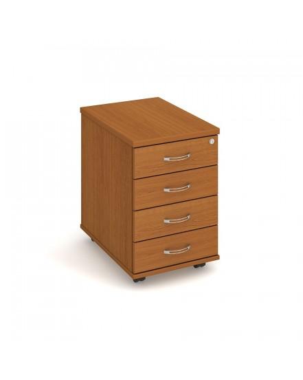 kontejner 4 zasuvky podel 60cm - Delso - dětský, kancelářský a bytový nábytek