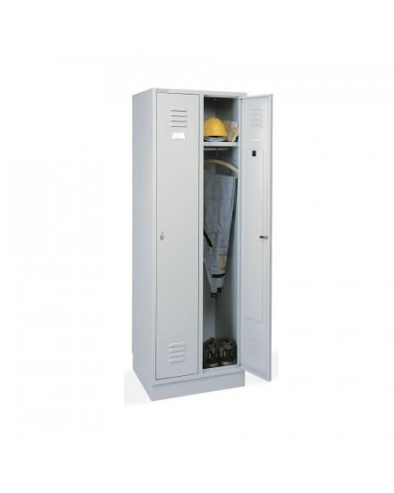 kovova satni skrin seda - Delso - dětský, kancelářský a bytový nábytek