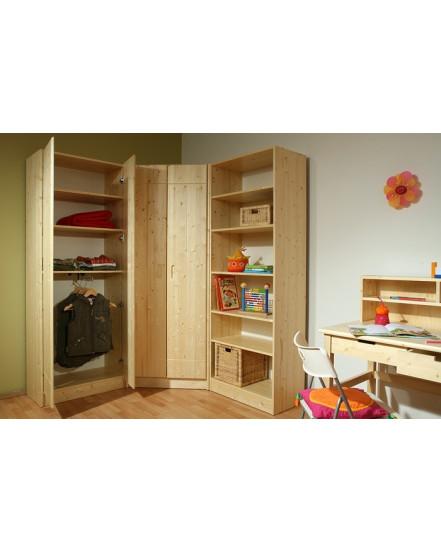 lara satni skrin 2dverova - Delso - dětský, kancelářský a bytový nábytek