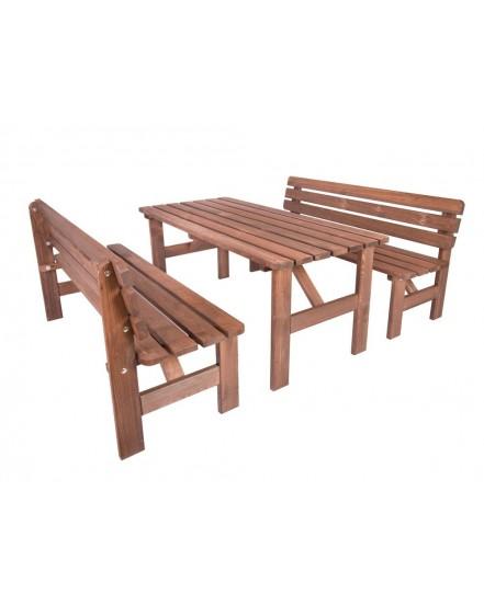 margareta lavice 150 cm morena borovice - Delso - dětský, kancelářský a bytový nábytek