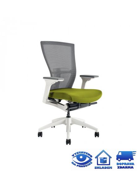 merens white bp kancelarske kreslo - Delso - dětský, kancelářský a bytový nábytek