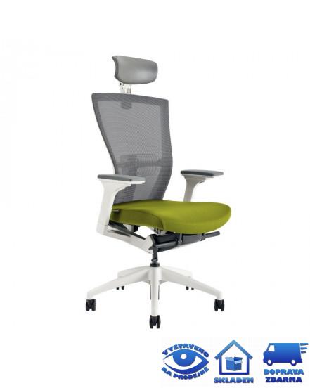 merens white sp kancelarske kreslo - Delso - dětský, kancelářský a bytový nábytek