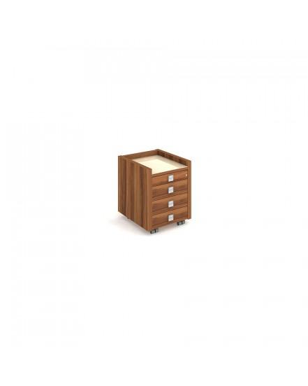 mobilni kontejner tuzkovnice zasuvka - Delso - dětský, kancelářský a bytový nábytek