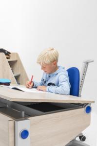 moll kids winner kinderschreibtisch Tischplatte schrag 02 - Delso - dětský, kancelářský a bytový nábytek