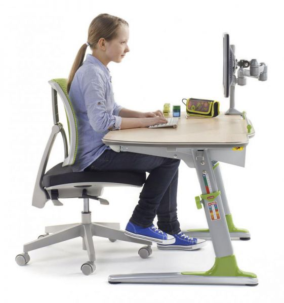 myflexo se stolem - Delso - dětský, kancelářský a bytový nábytek