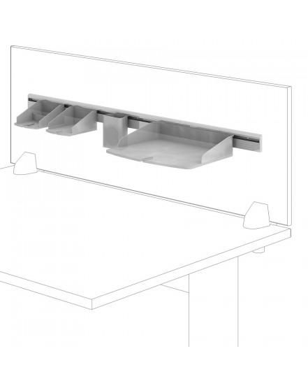 organizacni set pro paravany 120 a 160 cm - Delso - dětský, kancelářský a bytový nábytek