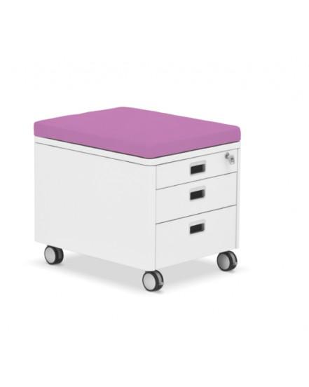 pad 15 sedak na kontejner cubic a pro 1 - Delso - dětský, kancelářský a bytový nábytek