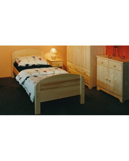 postel berghen senior - Delso - dětský, kancelářský a bytový nábytek