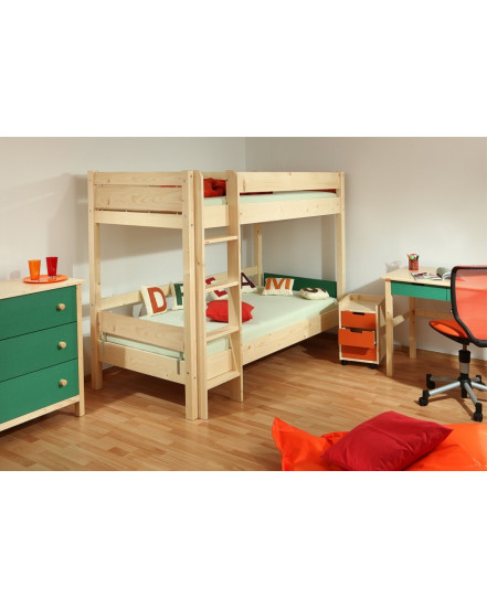 postel keyly - Delso - dětský, kancelářský a bytový nábytek