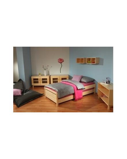 postel konny - Delso - dětský, kancelářský a bytový nábytek