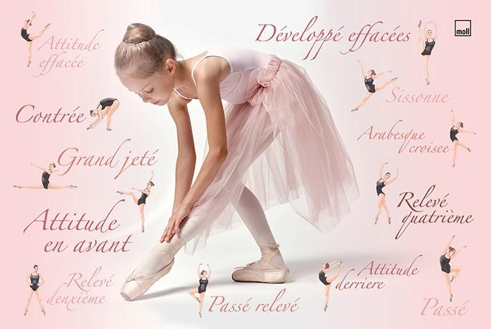 psaci podlozka Ballerina - Delso - dětský, kancelářský a bytový nábytek