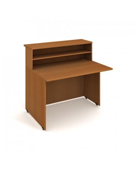 recepce rovna leva 120cm - Delso - dětský, kancelářský a bytový nábytek
