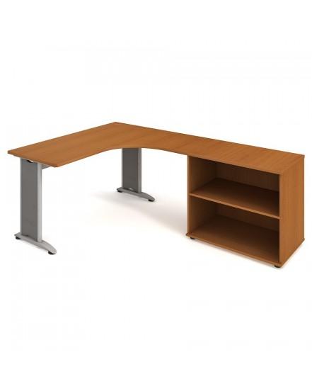 sestava leva 160cm 4 - Delso - dětský, kancelářský a bytový nábytek