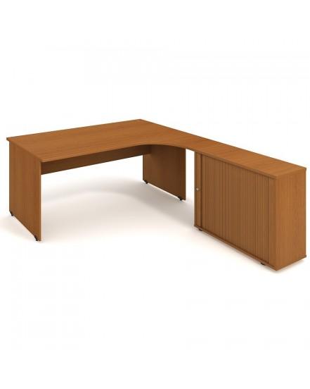 sestava leva 180cm 1 - Delso - dětský, kancelářský a bytový nábytek