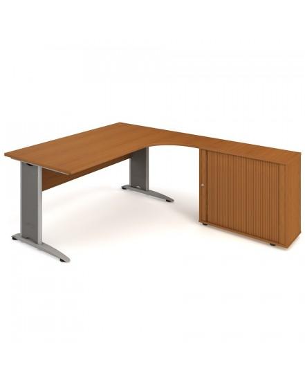 sestava leva 180cm 5 - Delso - dětský, kancelářský a bytový nábytek