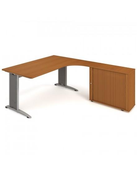 sestava leva 180cm 9 - Delso - dětský, kancelářský a bytový nábytek