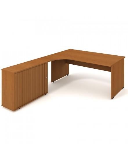 sestava prava 180cm 1 - Delso - dětský, kancelářský a bytový nábytek